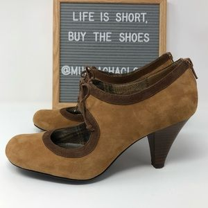 Style & Co. | brown/camel heels